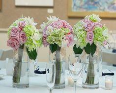 Koru Bodas / Decoración boda / centros de mesa 2014