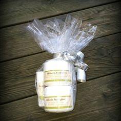Produktpakke for rens og pleie. Perfume Bottles, Perfume Bottle