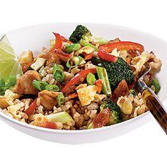 Southeast Asian Fried Rice   MyRecipes.com