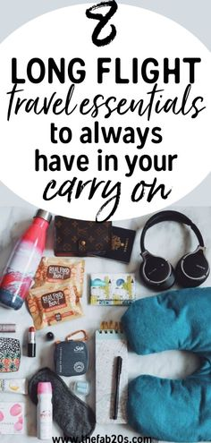 8 must have items in carry on to get through a long-haul flight. I take these comfort items for air travel every time I travel. These are my best tips and tricks for surviving a long flight or layover. If you need a packing list for the plane this is it! Travel Tips With Toddlers, Travel Tips With Baby, Iceland Travel Tips, Solo Travel Tips, Packing Tips For Travel, Travel Essentials, Travel Hacks, Packing Tricks, Carry On Packing