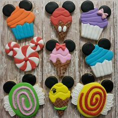 My version of Disney Candyland theme cookies. i love how the came out. #disneycandyland #cookies #decoratedcookies #edibleart #mickeyandfriends #mickeycandy #candycookies