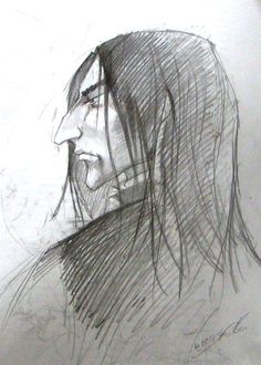 Snape by kissyushka.deviantart.com on @DeviantArt