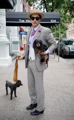 Celebrity Dachshund Watch: Zac Posen #dachshund #teckel