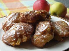 Apple Fritters a la Dunkin Donuts (Apfelkrapfen)