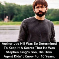 An interview with horror sci fi and fantasy author joe hill son book memes interesting stories malvernweather Gallery