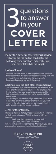 Cover Letter Tips - Outline. How to write a cover letter.