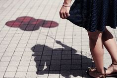 Red Balloon Shadow