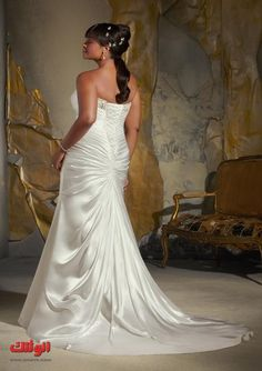 I like the back of this dress...Best wedding dresses plus size wedding dresses plus size 2013