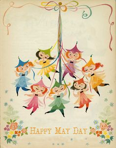 Happy May Day to all my wonderful followers and fellow pinners!