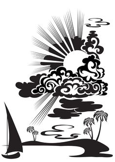 vector graphics would need a little adjusting to work for a paper cut but would… Stencil Patterns, Stencil Art, Stencil Designs, Rock Poster, Silhouette Art, Kirigami, Bottle Crafts, Pyrography, Clipart