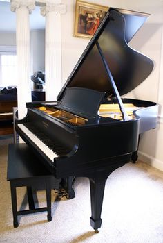 We're doing some research for an internal layout and one room has a baby grand piano similar to this beautiful instrument.