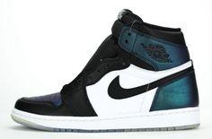 e729fcf11d00 men shoes casual sneakers Air Jordan 1 Retro High OG All Star Black  Metallic Silver White 907958 015 February 19 2017