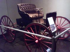 1907-1908 - Economy Motor Carriage, made in Fort Wayne, IN. This car was owned by John Kennedy of Charleston, SC.