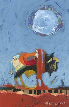 Bison Buffalo Original Painting