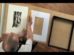 How to Measure and Cut a Mat....cool, now I can professionally mat and frame my own photos.