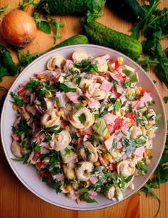 to the package istructions, set aside to cool Tortellini Salad, Pasta Salad, Potato Salad, Cake Recipes, Potatoes, Ethnic Recipes, Food Cakes, Fit, Food And Drinks