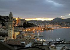 gaeta, italy, nice small town, but its really close to rome so that's where most of my time was spent.