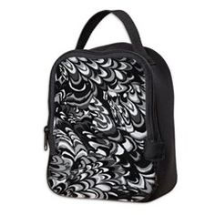Abstract Marbling texture Neoprene Lunch Bag