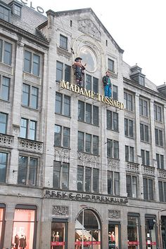 2016- Wanted to go to Madame Tussauds forever, when we were in Amsterdam it was literally as we got off the coach!! :)