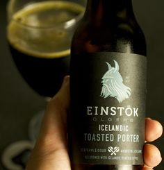 Toasted Porter from Einstok Brewery-hints of coffee and chocolate