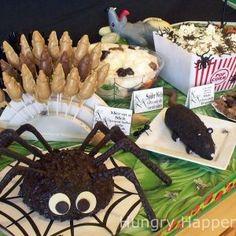 Spooky Halloween Food Decorations