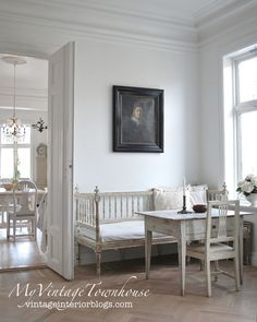 Vintage Interior - Page 3 of 67 - Swedish Decor, Swedish Style, Swedish Design, European Furniture, Country Furniture, French Furniture, Scandinavian Interior, Scandinavian Style, Swedish Interiors
