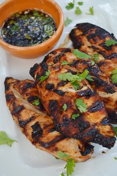 Honey Cilantro-Lime Grilled Chicken