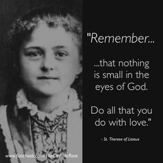 (via Nancy) St. Therese of Lisieux