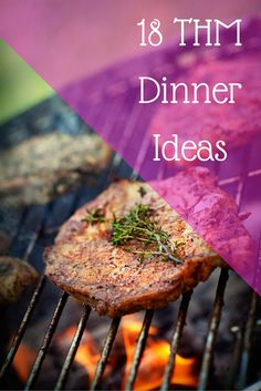 18 THM Dinner Recipe Ideas-healthy, gluten free meals that everyone will love.