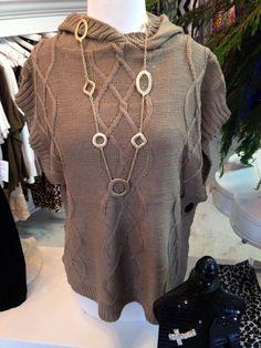 Sweater vest $30.95  Gold Necklace $23.95