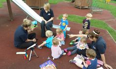 Finding the 'Shark in the Park' was a great way to bring one of the children's favourite books to life