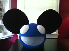 How To Build Your Own Deadmau5 Mouse Head Helmet Dead Mouse Deadmau5 Head Mouse Mask