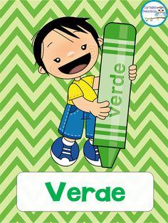 300 Tarjetas para trabajar el vocabulario – Imagenes Educativas Preschool Colors, Preschool Writing, Preschool Activities, School Images, Cartoon Birds, Color Shapes, School Projects, Classroom, Children