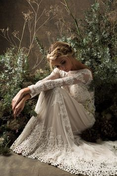 Long Sleeve Wedding Dress from Dreamers & Lovers