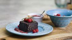 Brownie de Nozes com Cacau e Alfarroba