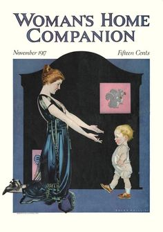 Woman's home companion vintage magazine 1917