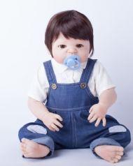 Bebê reborn Benício corpo inteiro silicone c/ frete expresso grátis!