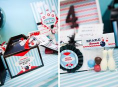 anders ruff bowling party favors bowling bag and spare sweets
