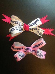 Cowboys bow $5.00ea.