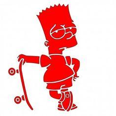 Bart Simpson - Free SVG File!