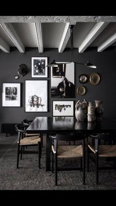 Dark walls