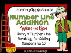 Number Line Addition FREEBIE!!!
