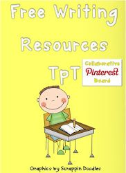 HUGE collection/pinboard of free writing freebies on TpT.  We will try to pin a lot of these individually but in the meantime, have at it!! - Pinned by @PediaStaff – Please Visit ht.ly/63sNtfor all our pediatric therapy pins