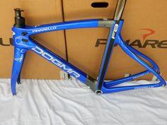 2017-PINARELLO-DOGMA-F8-FRAME-MYWAY-SYSTEM-COBALT-BLUE-amp-TITANIUM-GREY Cobalt Blue, Bicycle, Grey, Amp, Bicycles, Gray, Bike, Bicycle Kick, Cobalt