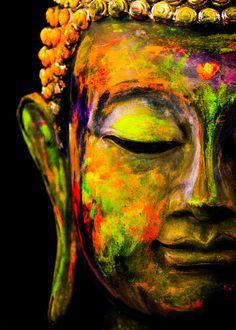 Buddha poster by from collection. Budha Painting, Zen Painting, Ganesha Painting, Buddha Artwork, Buddha Wall Art, Buda Wallpaper, Arte Yin Yang, Yoga Art, Zen Yoga