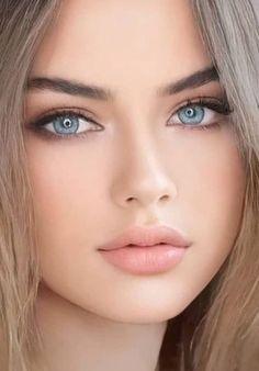 Cute Beauty, Beauty Full Girl, Beauty Women, Most Beautiful Eyes, Stunning Eyes, Muslim Beauty, Beautiful Blonde Girl, Beautiful Women Pictures, Blonde Beauty