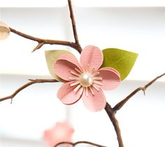 Spring Is In The Air - Make Paper Cherry Blossoms With Cricut Explore