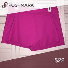 Pink envelope skirt super cute skirt! worn only once! Has pockets and fits very nicely and comfortably. Zipper in the back of skirt Tea n Cup Skirts Mini