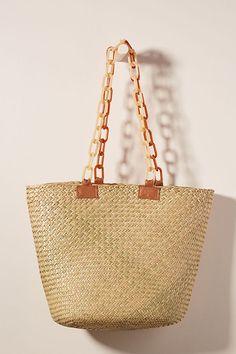 387aa60babe3 Sunny Woven Tote Bag | Anthropologie スカーフを作る, 荷物袋, Anthropologie, 俵