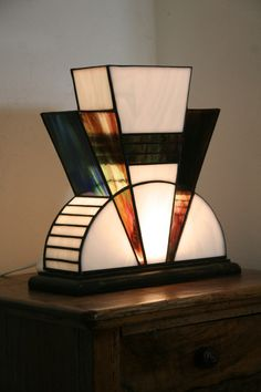Art Déco Tiffany Lamp …
